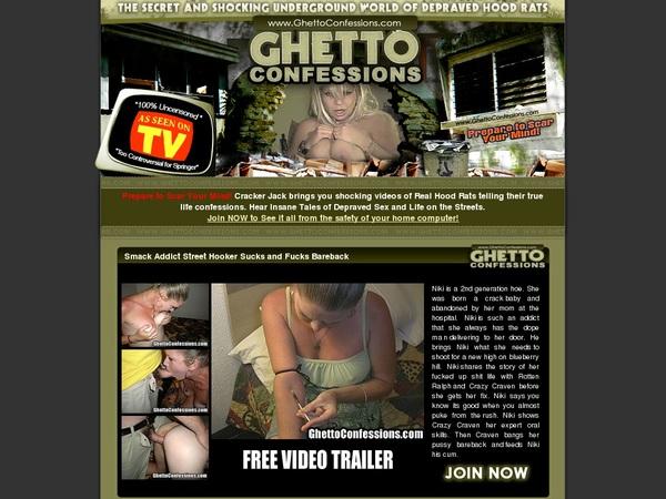 Ghettoconfessions Account Blog