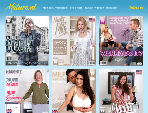 Mature.nl Discount Promotion