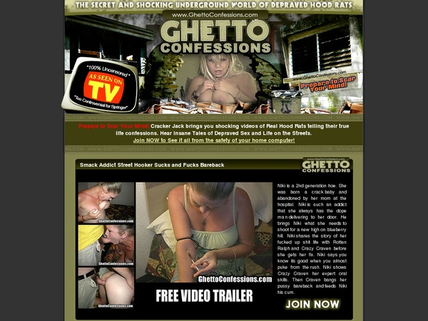 Ghettoconfessions.com Free Video
