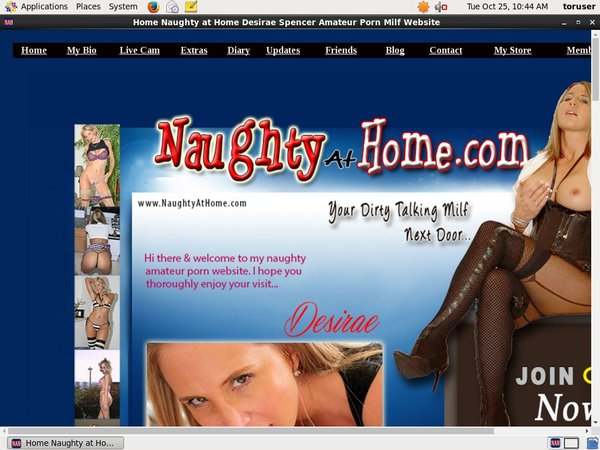 Naughtyathome.com Trial Discount