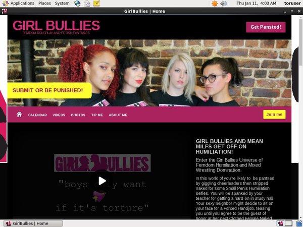 Girlbullies.com Account Gratis